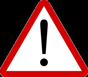 Foto zeigt Verkehrs-Schild Achtung (© pixabay)