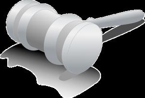 Foto zeigt Richter-Hammer (© pixabay)