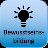 Bewusstseinsbildung-Button: Bitte klicken für weitere Informationen zum Thema Bewusstseinsbildung.