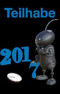 Zeigt einen Roboter, der 5 vor 12 die Sieben in der Jahreszahl 2017 austauscht. (© pixabay)