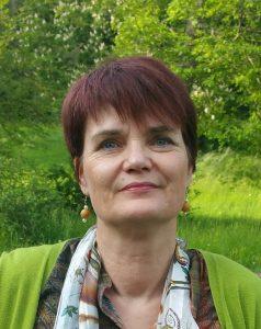 Das Foto zeigt Barbara Vieweg von der Interessenvertretung Selbstbestimmt Leben in Deutschland e.V. (ISL e.V.)