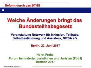 Titelbild Vortrag Horst Frehe (FbJJ)