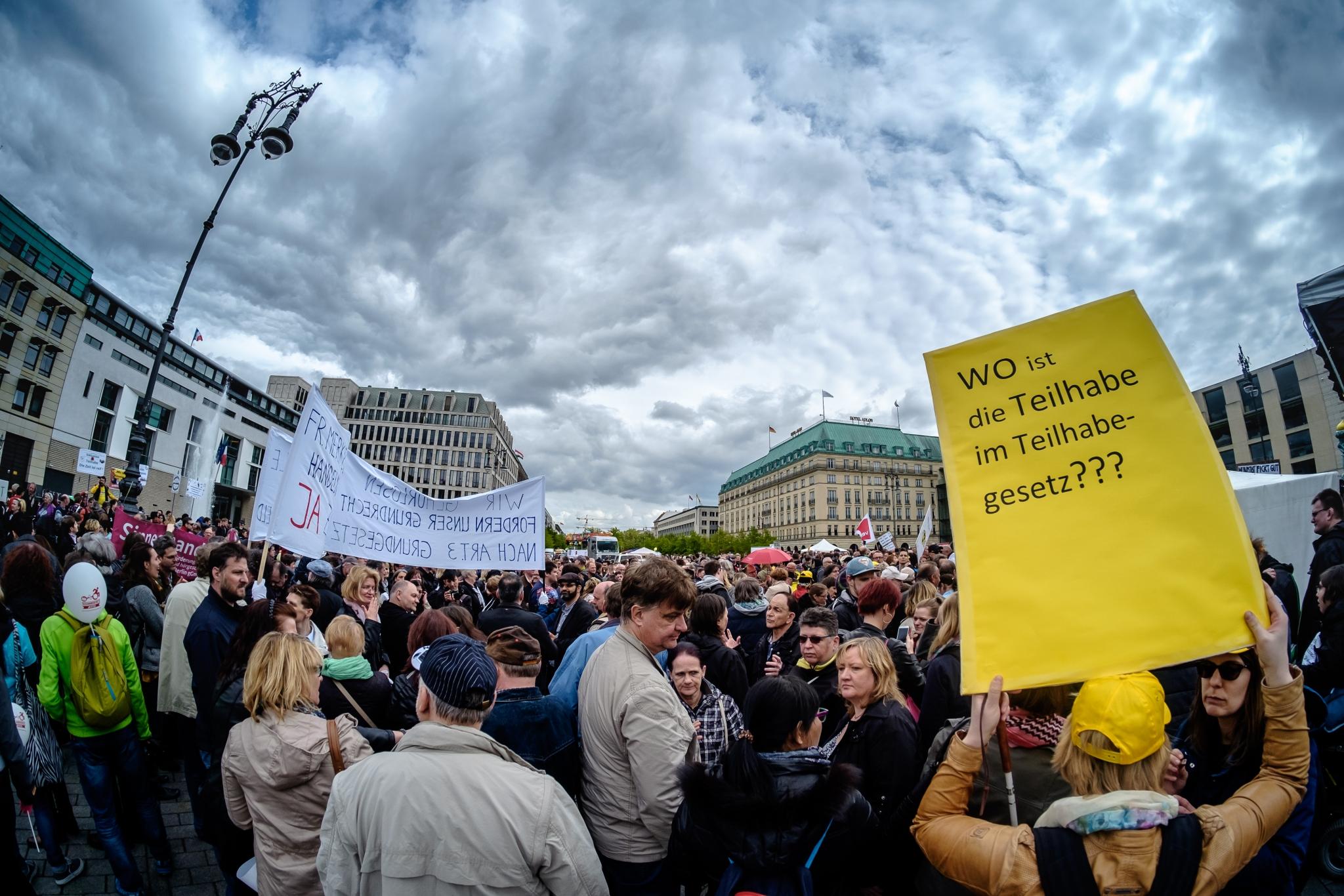 Europäischer Protesttag in Berlin 2016, Copyright: Andi Weiland | Gesellschaftsbilder.de